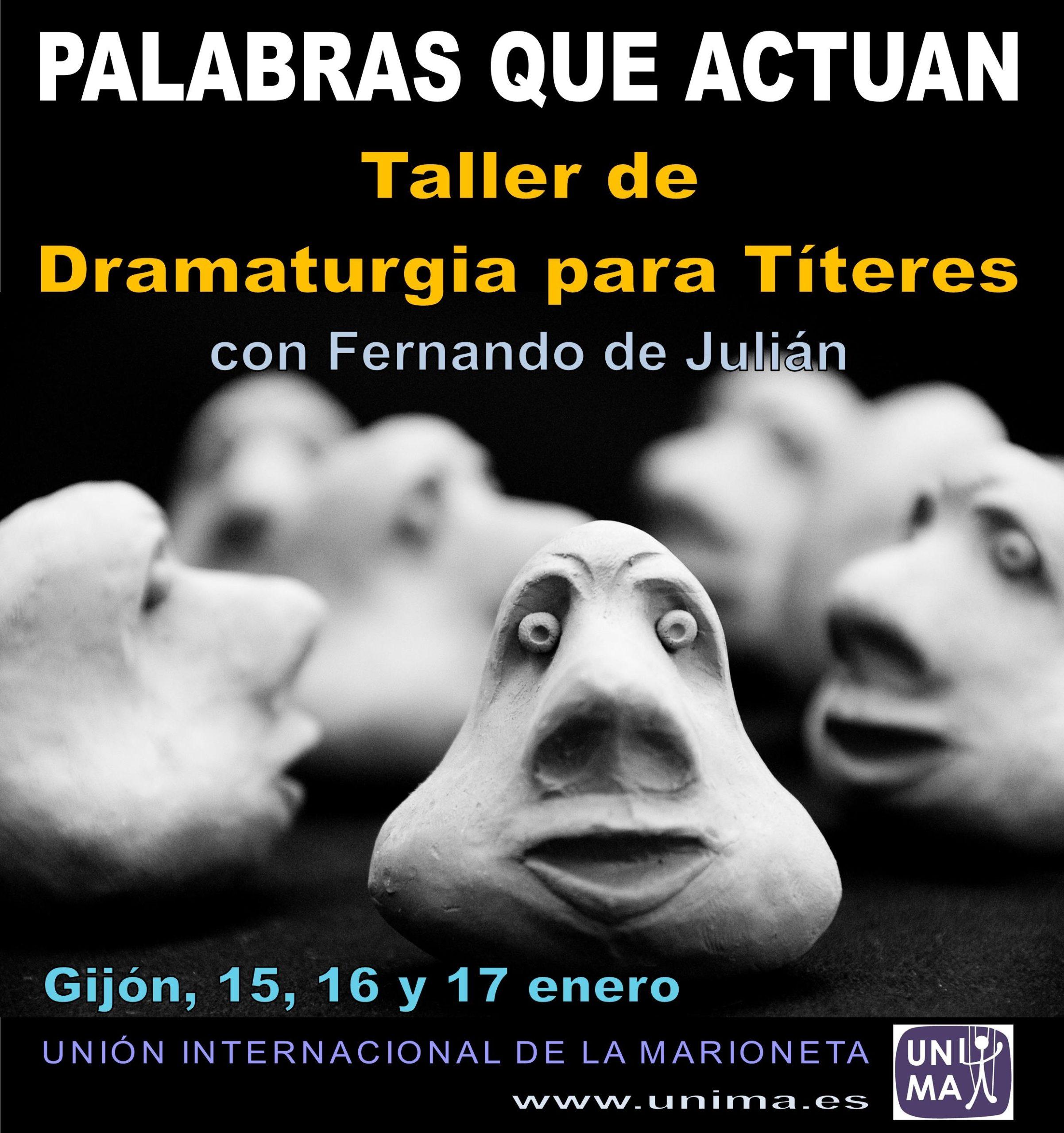 """""""DRAMATURGIA PARA EL TEATRO DE TÍTERES"""""""