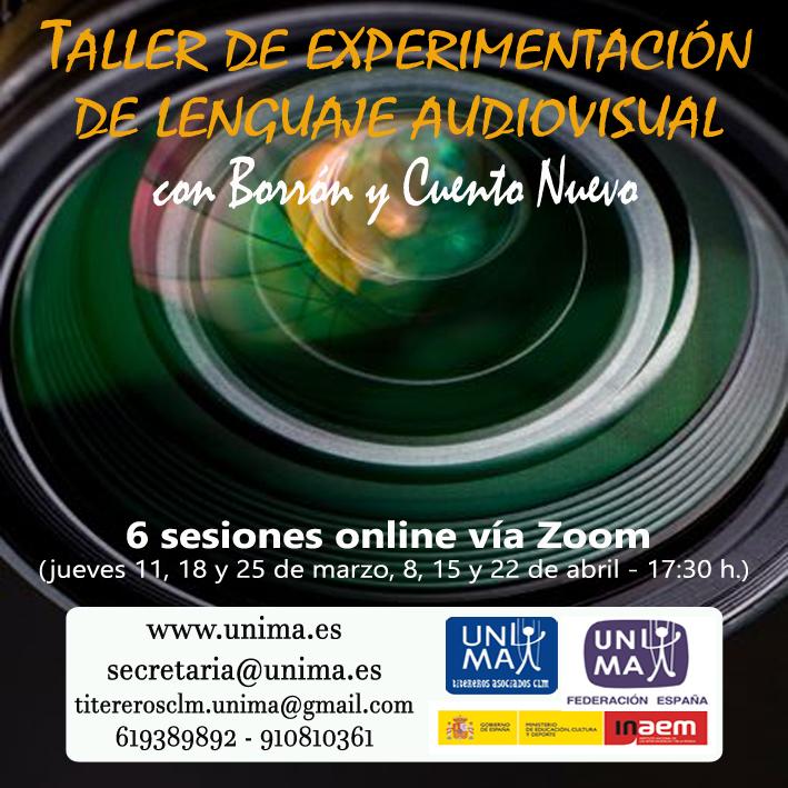 Taller de experimentación de lenguaje audiovisual